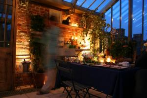 Greenhouse by night - 1